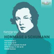Kammerata Luxembourg - Hommage a Schumann, CD