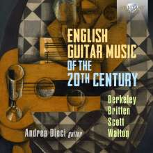 Andrea Dieci - English Guitar Music of the 20th Century, CD