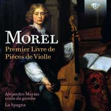 Jacques Morel (1690-1740): Premier Livre de Pieces de Violle, CD