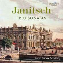 Johann Gottlieb Janitsch (1708-1763): Triosonaten, CD