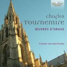 Charles Tournemire (1870-1939): Orgelwerke, 4 CDs