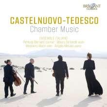 Mario Castelnuovo-Tedesco (1895-1968): Kammermusik, CD