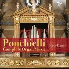 Amilcare Ponchielli (1834-1886): Sämtliche Orgelwerke, 2 CDs