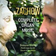 Friedrich Wilhelm Zachow (1663-1712): Sämtliche Orgelwerke, 2 CDs