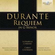 Francesco Durante (1684-1755): Requiem g-moll, CD