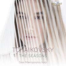 Peter Iljitsch Tschaikowsky (1840-1893): Die Jahreszeiten op.37b (Fassung für Harfe), CD