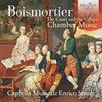 "Joseph Bodin de Boismortier (1689-1755): Kammermusik ""The Court and the Village"", CD"