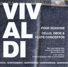 """Antonio Vivaldi (1678-1741): Concerti op.8 Nr.1-4 """"4 Jahreszeiten"""", 5 CDs"""