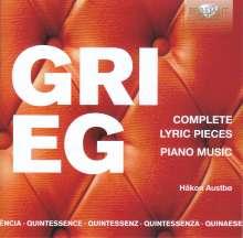 Edvard Grieg (1843-1907): Lyrische Stücke (Gesamtaufnahme), 5 CDs