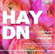 "Joseph Haydn (1732-1809): Symphonien Nr.93-104 ""Londoner"", 5 CDs"