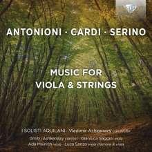 Music for Viola & Strings, CD