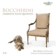 Luigi Boccherini (1743-1805): Sämtliche Flötenquintette (G.419-439), 3 CDs