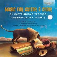 St. Martin's Chamber Choir & Nicolo Spera - Music For Guitar & Choir, CD