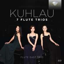 Friedrich Kuhlau (1786-1832): Flötentrios op.13 Nr.1-3 & op.86 Nr.1-3, 2 CDs