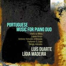 Portugisische Werke für 2 Klaviere, CD