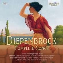 Alphons Diepenbrock (1862-1921): Sämtliche Lieder, 3 CDs