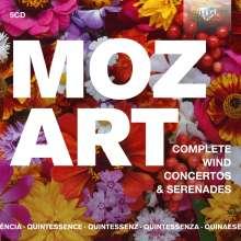 Wolfgang Amadeus Mozart (1756-1791): Bläserkonzerte (Ges.-Aufn.), 5 CDs