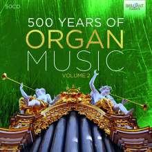 500 Jahre Orgelmusik Vol.2, 50 CDs