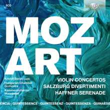 Wolfgang Amadeus Mozart (1756-1791): Violinkonzerte Nr.1-5, 5 CDs