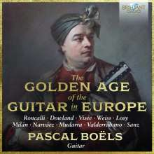 Pascal Boels - The Golden Age of the Guitar in Europe, 2 CDs