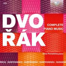 Antonin Dvorak (1841-1904): Sämtliche Klavierwerke, 5 CDs