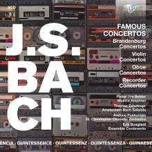 Johann Sebastian Bach (1685-1750): Brandenburgische Konzerte Nr.1-6, 5 CDs