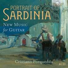 Portrait of Sardinia - New Music for Guitar, 4 CDs
