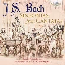 Johann Sebastian Bach (1685-1750): Sinfonias aus Kantaten, CD