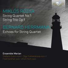 Miklos Rozsa (1907-1995): Streichquartett Nr.1, CD