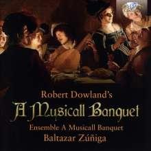 Robert Dowland's A Musicall Banquet, CD
