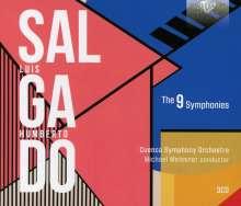 Luis Humberto Salgado (1903-1977): Symphonien Nr.1-9, 3 CDs