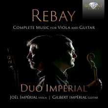 Ferdinand Rebay (1880-1953): Werke für Viola & Gitarre, CD