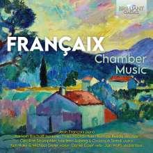 Jean Francaix (1912-1997): Kammermusik, CD