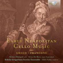 Matteo Malagoli - Early Neapolitan Cello Music, CD