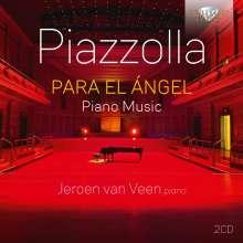 """Astor Piazzolla (1921-1992): Tangos für Klavier - """"Para el Angel"""", 2 CDs"""