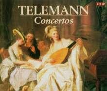 Georg Philipp Telemann (1681-1767): Solo-Konzerte, 3 CDs