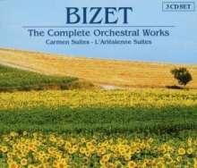Georges Bizet (1838-1875): Symphonie C-dur, 3 CDs