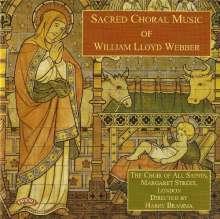William Lloyd Webber (1914-1982): Geistliche Chorwerke, CD