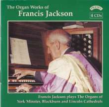 Francis Jackson (geb. 1917): Orgelwerke, 4 CDs