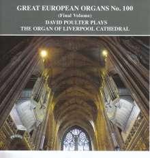 Große europäische Orgeln Vol.100, CD