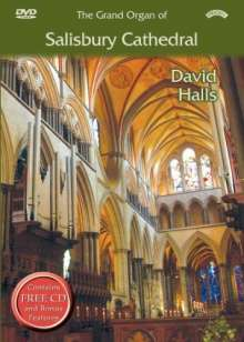 David Halls - The Grand Organ of Salisbury Cathedral, DVD