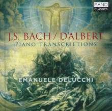 Eugen D'Albert (1864-1932): Bach-Transkriptionen, CD