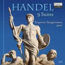 Georg Friedrich Händel (1685-1759): Klaviersuiten HWV 434-442, CD