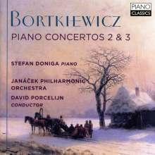 Serge Bortkiewicz (1877-1952): Klavierkonzerte Nr.2 & 3, CD