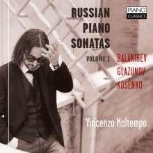 Vincenzo Maltempo - Russian Piano Sonatas Vol.1, CD