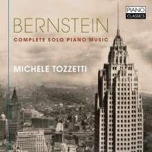 Leonard Bernstein (1918-1990): Sämtliche Klavierwerke, CD