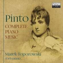 George Frederick Pinto (1785-1806): Sämtliche Klavierwerke, 2 CDs
