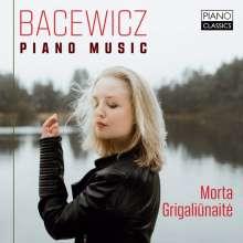Grazyna Bacewicz (1909-1969): Klavierwerke, CD