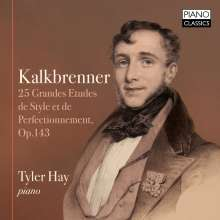Friedrich Kalkbrenner (1785-1849): 25 Grandes Etudes de Style et Perfectionnement op.143, CD