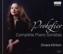 Serge Prokofieff (1891-1953): Klaviersonaten Nr.1-9, 3 CDs